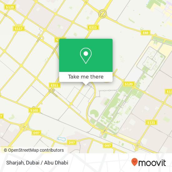 Карта Sharjah
