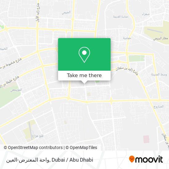 واحة المعترض-العين map