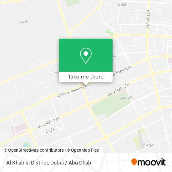 Al Khabisi District map