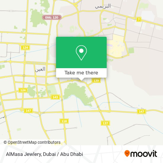 AlMasa Jewlery map