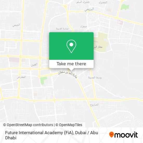 Future International Academy (FiA) map