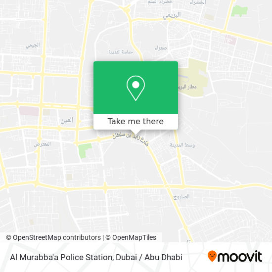 Al Murabba'a Police Station map