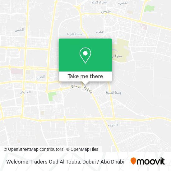 Welcome Traders     Oud Al Touba map