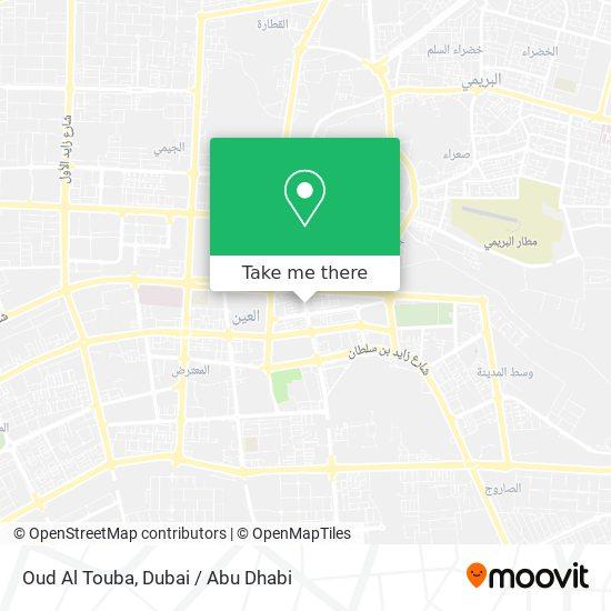Oud Al Touba map