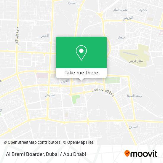 Al Bremi Boarder map