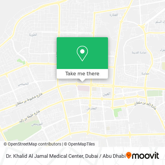 Dr. Khalid Al Jamal Medical Center map