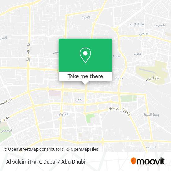 Al sulaimi Park map