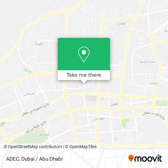 ADEC map