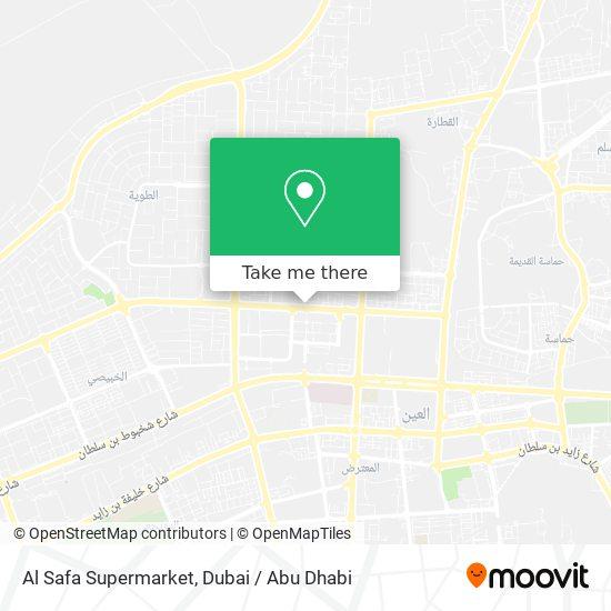 Al Safa Supermarket map