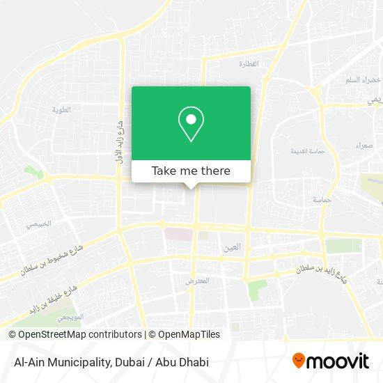 Al-Ain Municipality map
