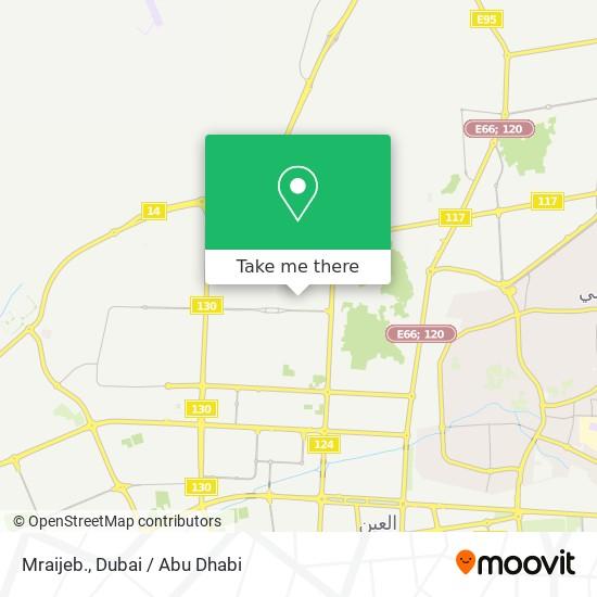 Mraijeb. map