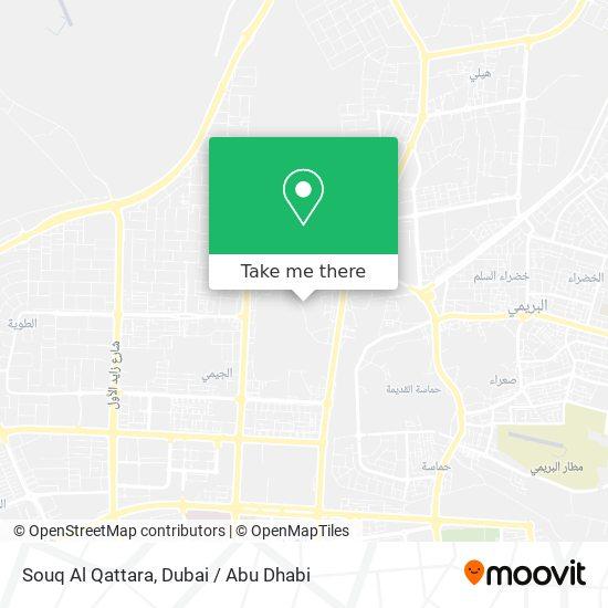 Souq Al Qattara map