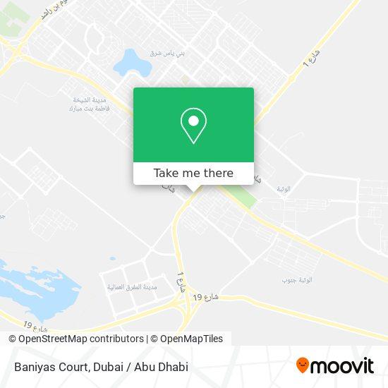 Baniyas Court map