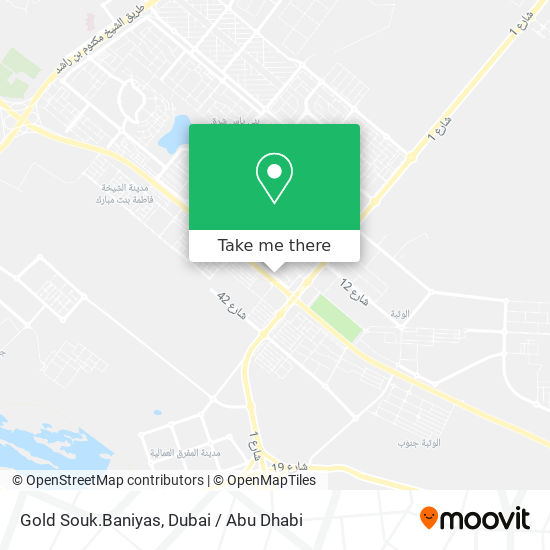 Gold Souk.Baniyas map