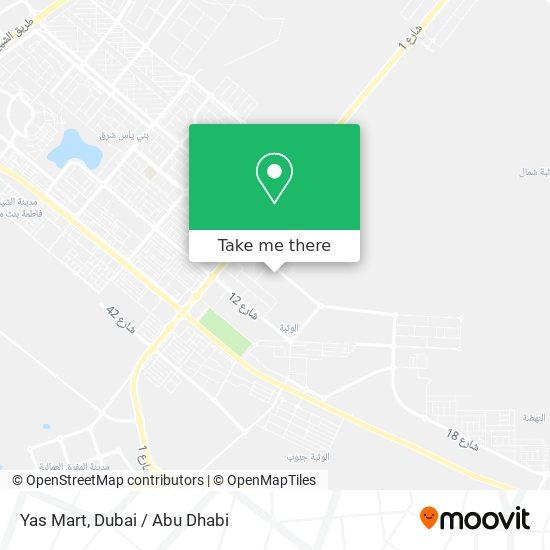 Yas Mart map