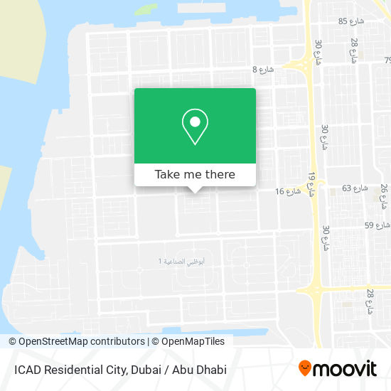 ICAD Residential City map