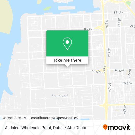 Al Jaleel Wholesale Point map