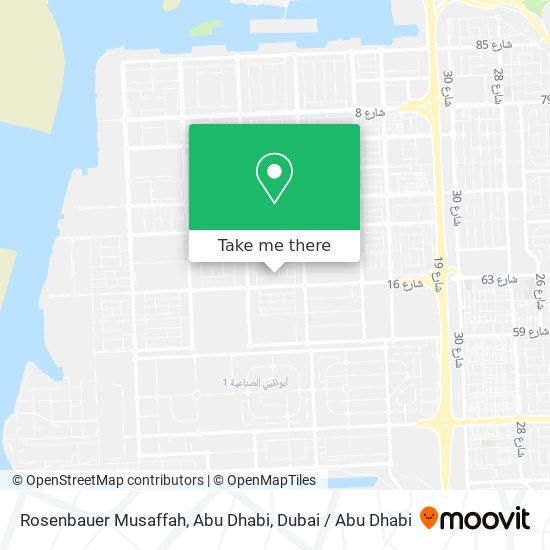 Rosenbauer Musaffah, Abu Dhabi map