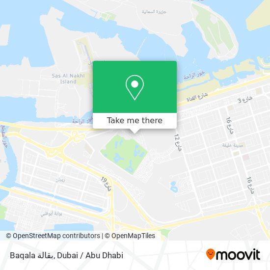 Baqala بقالة map