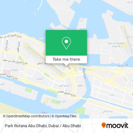 Park Rotana Abu Dhabi map