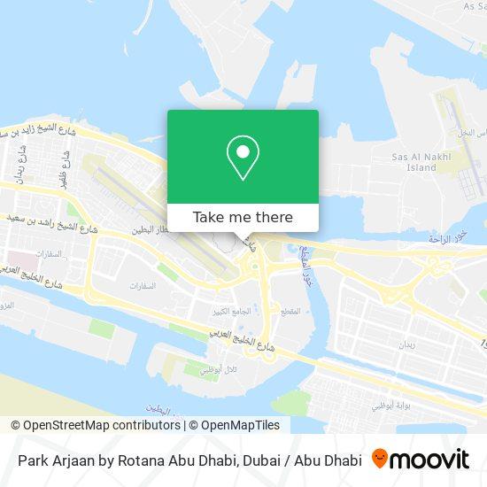 Park Arjaan by Rotana Abu Dhabi map