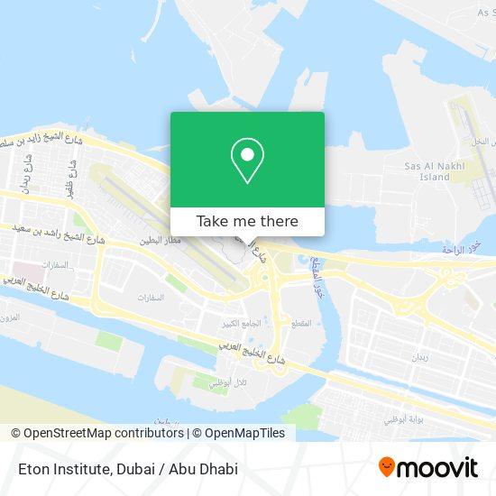 Eton Institute map