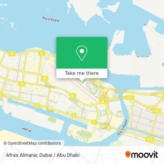 Afra's Almarar map