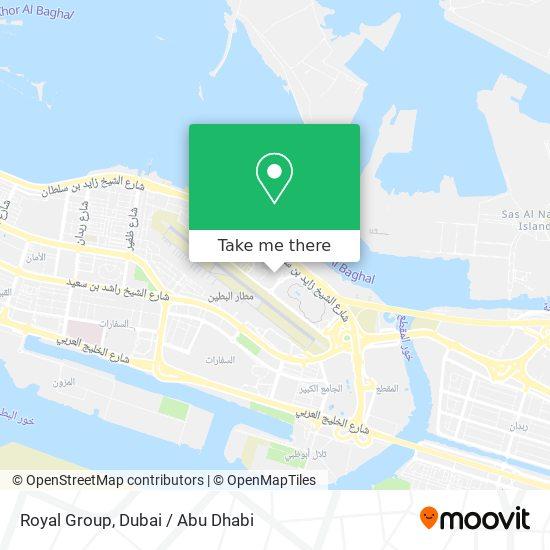 Royal Group map