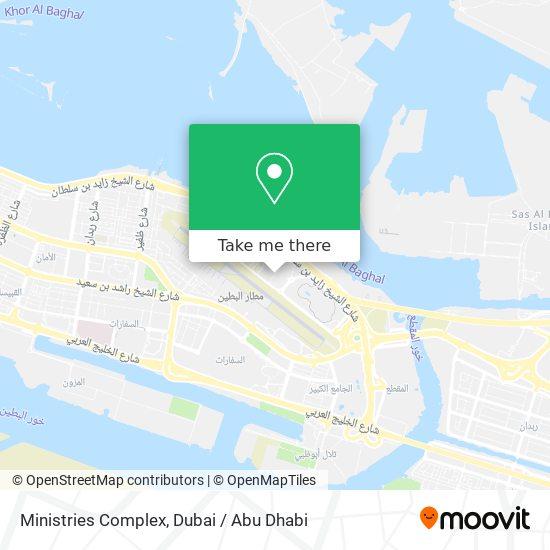 Ministries Complex map