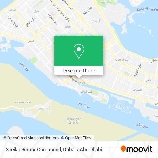 Sheikh Suroor Compound map