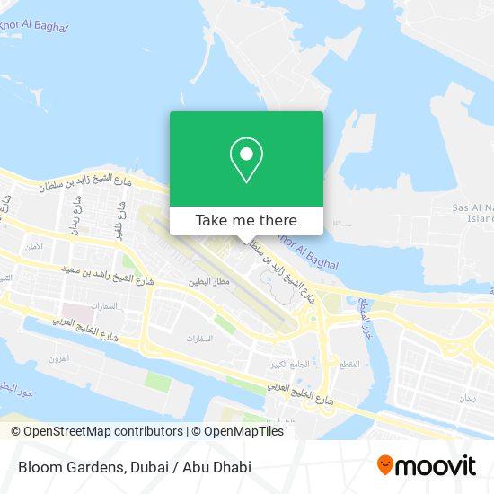 Bloom Gardens map