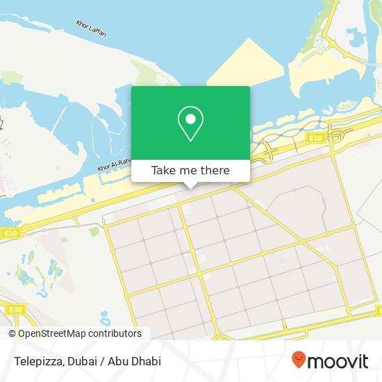 Карта Telepizza