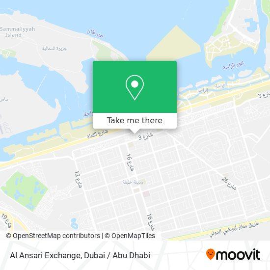 Al Ansari Exchange map