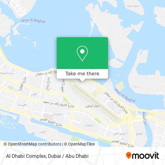 Al Dhabi Complex map