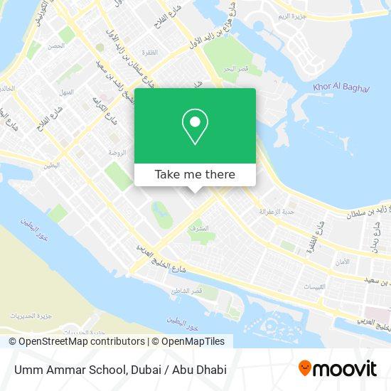 Umm Ammar School map