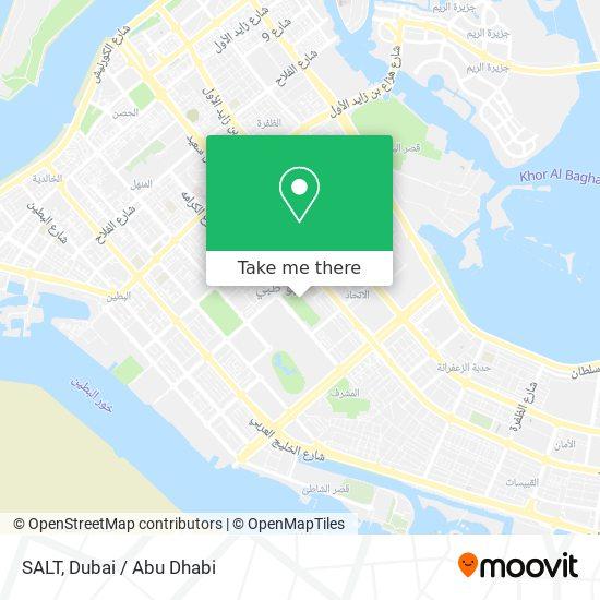 SALT map