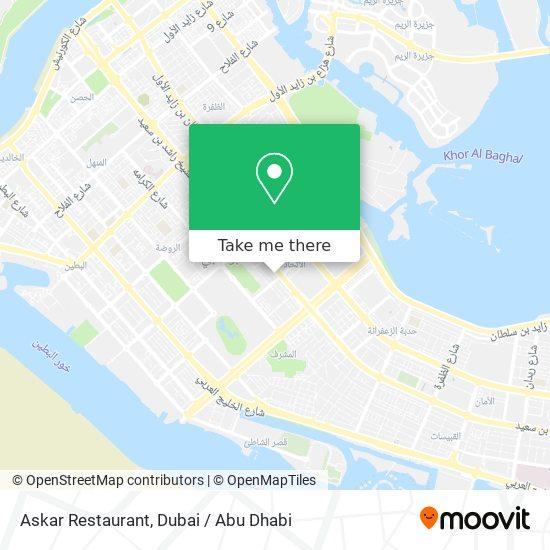 Askar Restaurant map