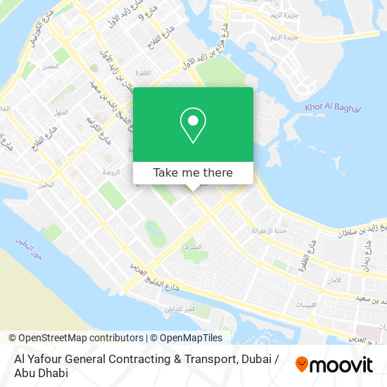 Al Yafour General Contracting & Transport map