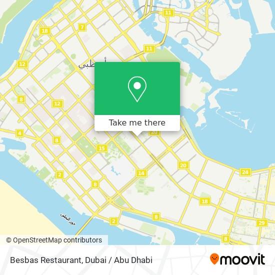 Besbas Restaurant map