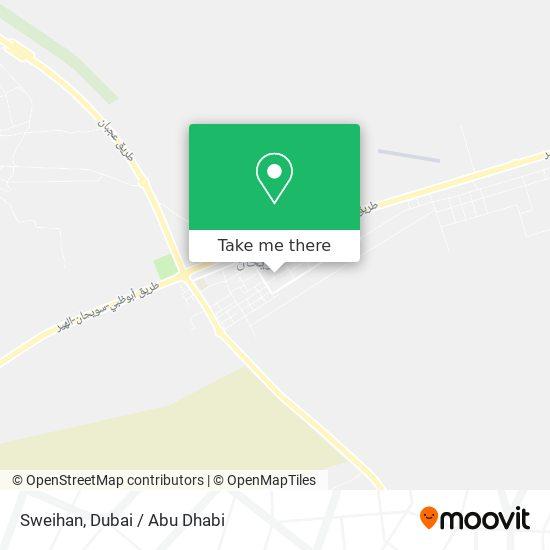 Sweihan map