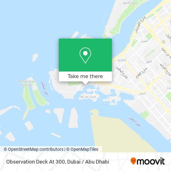 Observation Deck At 300 map