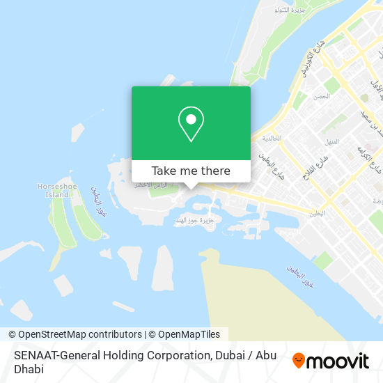SENAAT-General Holding Corporation map
