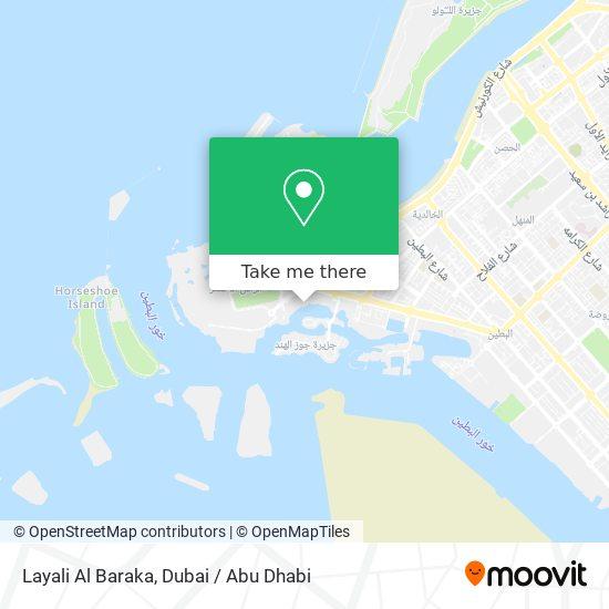 Layali Al Baraka map