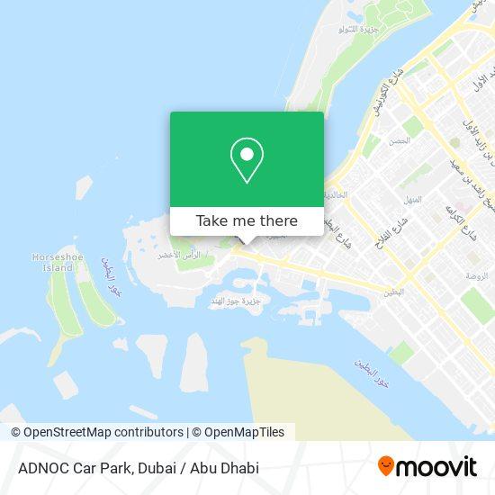 ADNOC Car Park map
