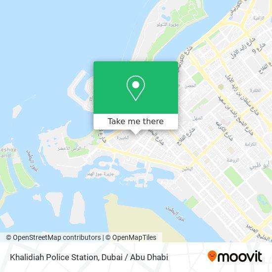 Khalidiah Police Station map