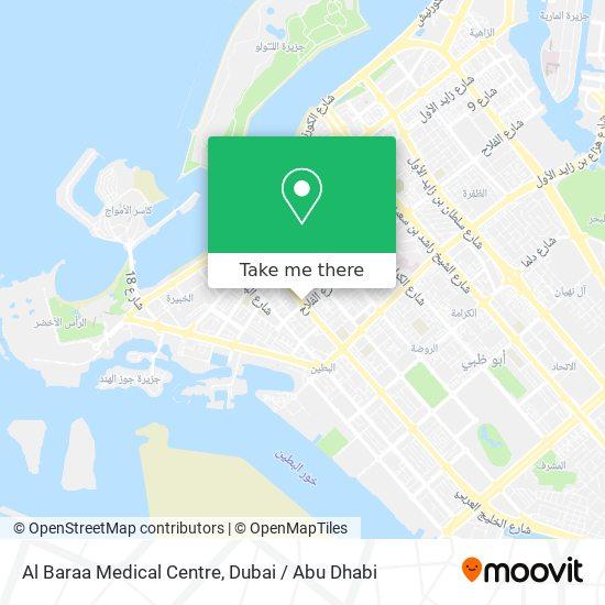 Al Baraa Medical Centre map