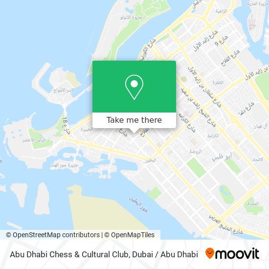Abu Dhabi Chess & Cultural Club map