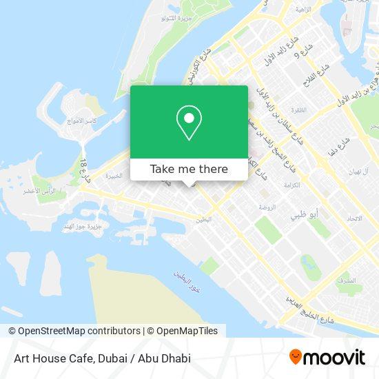 Art House Cafe map
