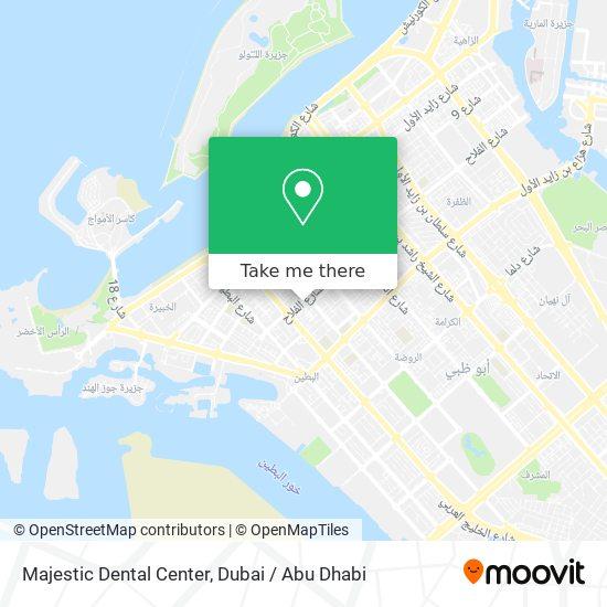 Majestic Dental Center map