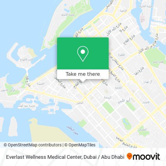 Everlast Wellness Medical Center map